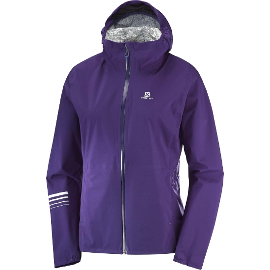 Salomon Lightning WP Jacket W - Parachute Purple